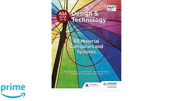 AQA GCSE (9-1) Design & Technology 8552