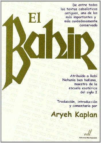 El bahir / The Bahir par ARYEH KAPLAN