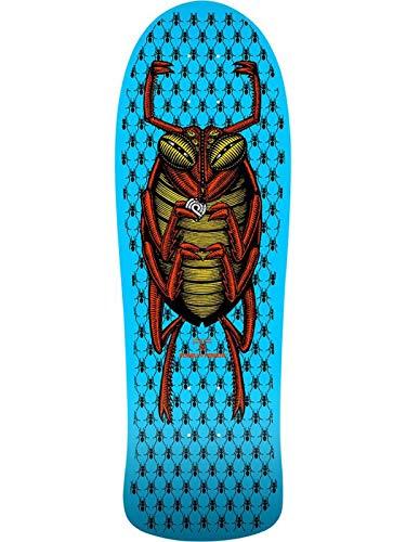 Powell Peralta Blau O.G Bug - 10 Inch Skateboard-Deck (One Size, Blau) - Bug-deck