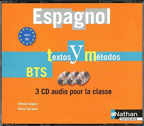 Espagnol Textos y Métodos B2 - BTS Tertiaires 1 et 2