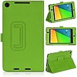 DONZO Wallet Structure Tablet Tasche für Asus Nexus 7 II 90NK0081-M00370 Grün