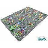 Auto Teppich HEVO® Kinder Strassen Spielteppich   Kinderteppich 145x200 cm