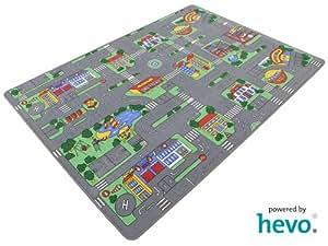 auto teppich hevo kinder strassen spielteppich kinderteppich 145x200 cm k che. Black Bedroom Furniture Sets. Home Design Ideas