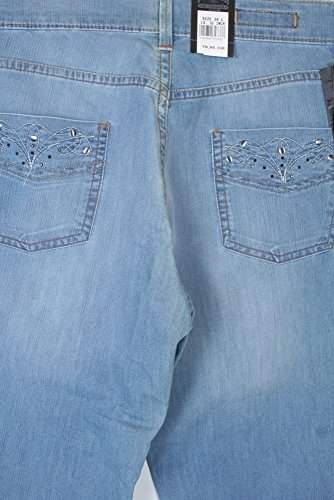 Pioneer Herren Straight Jeans Storm Blau (Stone Used With Buffies 354)
