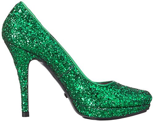 Buffalo London Glitter, Scarpe col tacco donna Verde