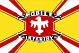 UB Fahne / Flagge Starship Troopers Mobile Infantry 90 cm x 150 cm Neuware!!!