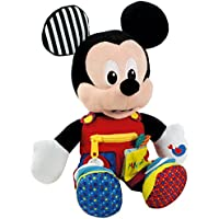 Baby Clementoni - Peluche Mickey, primeros aprendizajes (55207.8)