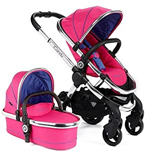 iCandy Peach Pushchair And Carrycot-Bubblegum   8
