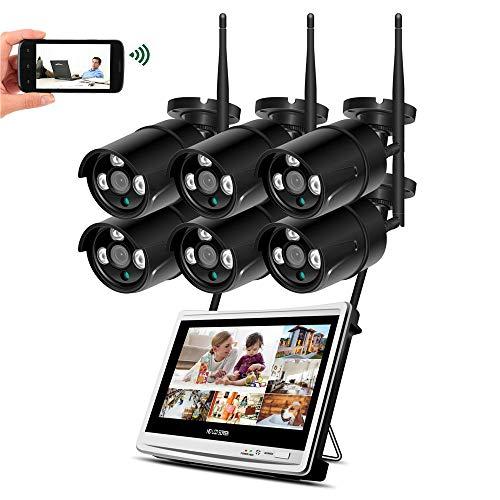 HD 1080P Wireless NVR WiFi CCTV System 12