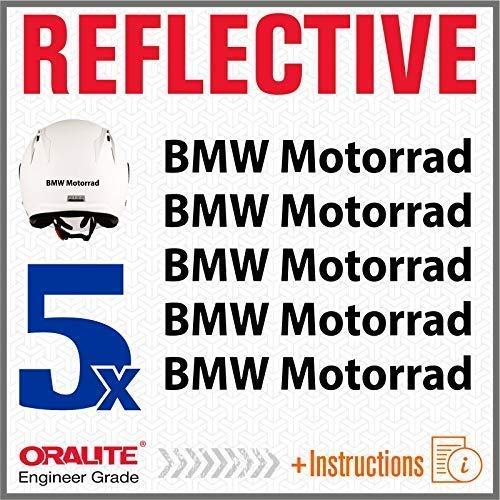 5pcs RIFRANGENTI ADESIVI compatibile con Motorrad R1150GS R1150 1150 R1200GS R1200 1200 R1200R R1200 R S1000XR S 1000 XR S1000 (Nero)