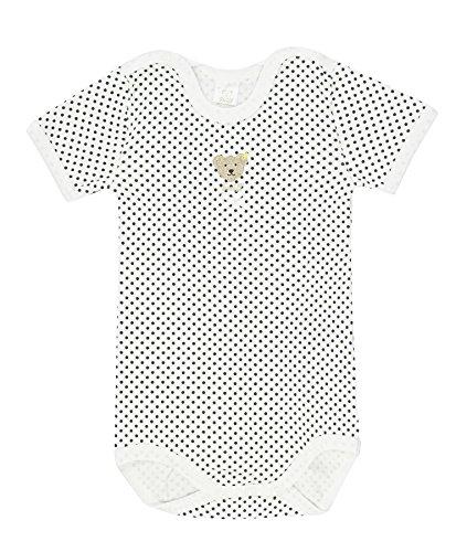 Steiff -  blanco de 100% algodón, talla: 92cm (24-36 meses)