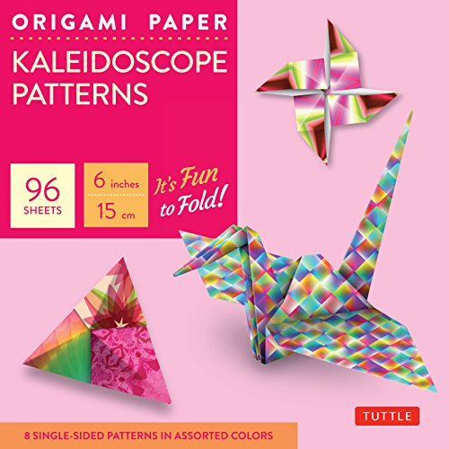 Origami paper kaleidoscope patterns small 6 96 sheets