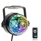 Docooler 3W RGB Fernbedienung Mini LED Magische Kugel Lampe Bühne Lichteffekt für Disco KTV Club Bar Home Party