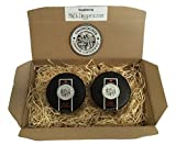 Snowdonia Cheese Company Gift Hamper Containing 2, 200g Black Bomber Truckles