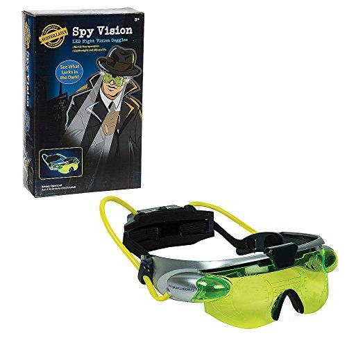 Unbekannt Funtime Gifts eg7975Spy Night Vision Goggles mit High Power LED Lichter, Fluoreszierende ()