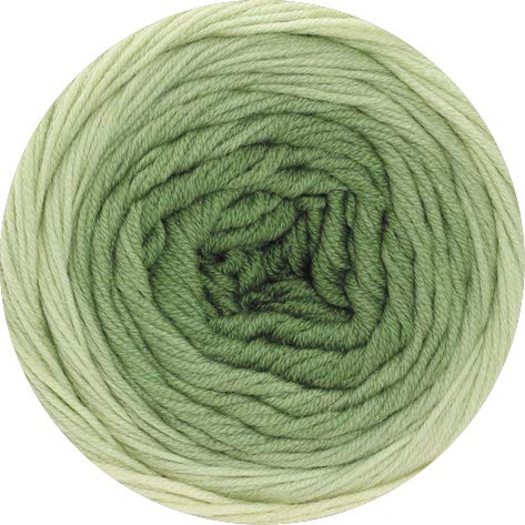 Lana Grossa Cool Wool Big 1:1 5006 - Zart-/Lind-/Moosgrün -