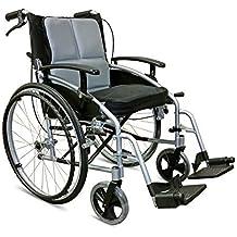 Rollos de-marca de fábrica de auto D-Lite con ruedas Autopropulsada mochila para silla de ruedas NRS healthcare los frenos de mano