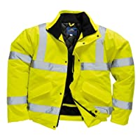 Portwest High-Visibility Jacket, Yellow