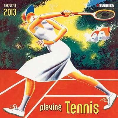 Playing Tennis 2013 Media Illustration