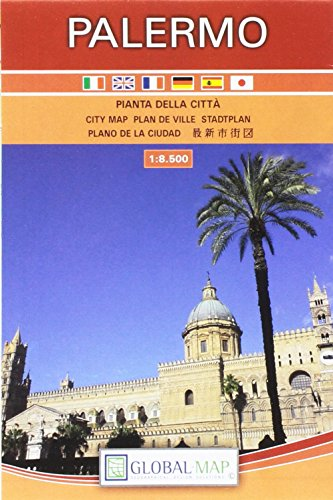 LAC Stadtplan Palermo 1:8 500