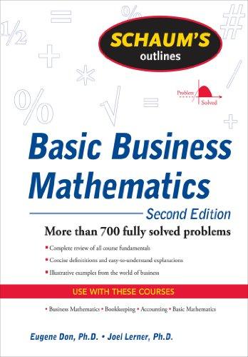 Schaum's Outline of Basic Business Mathematics, 2ed (English Edition)