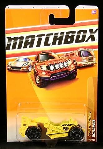 SCRAPER Construction Series (#4 of 14) MATCHBOX 2010 Basic Die-Cast Vehicle (#40 of 100 by Matchbox