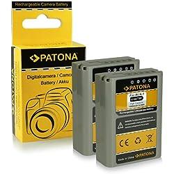 2X Batterie PS-BLN1 | BLN-1 pour Olympus Om-D E-M1 | Om-D E-M5 | Pen E-P5 | Stylus XZ-2 ...