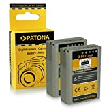 2x Batteria PS-BLN1 | BLN-1 per Olympus OM-D E-M1 | OM-D E-M5 | Pen E-P5 | Stylus XZ-2