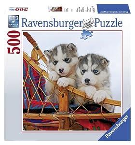 Ravensburger Cuadrado: cachorros de Husky, puzzle de 500 piezas (15230 8)