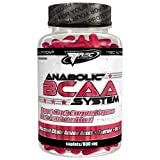 Trec Nutrition Anabolic BCAA -- Best Amino Acids + Taurine + Vitamin B6 -- Prevents Muscle Protein Breakdown