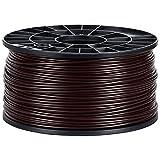 NuNus ABS Filament 1KG - 1,75mm oder 3,00mm Stärke *Premium Qualität in verschiedenen Farben,geeignet für 3D Drucker,3D Pen, MakerGear Ultimaker uvm.. (ABS 3,00mm, Braun)
