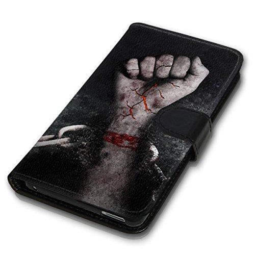 Wallet Book Style Flip Handy Tasche Case Schutz Hülle Schale Motiv Etui für Apple iPhone 5 / 5S - Variante Flip UMV13 Design12 Design 2