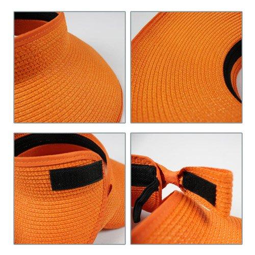 LA HAUTE cappello parasole di paglia pieghevole e arrotolabile con tesa  larga c53f4db19ac2