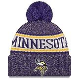 New Era American Football Minnesota Vikings NFL Teamsport Winter Strickmütze Unisex Beanie Mütze