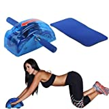 #4: Inditradition Ab Slider with Four Wheel Auto Push Back Spring Mechanism- Blue Color