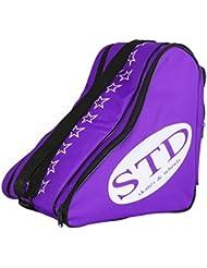 Sac pour patins de nylon std Skates avec poche arrière et sangle de transport