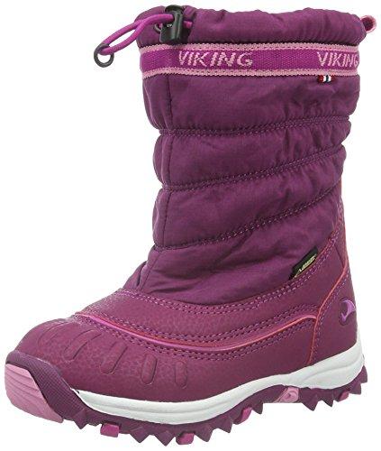 Viking WINDCHILL GTX - Scarponi da neve foderati per bambini, colore rosa (plum/dark pink 6239), taglia 28 EU
