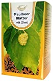 Maulbeerblätter Tee mit Zimt, 60 x 2g, 120g - für niedrigen Zuckerspiegel, bremst heißhunger, maulbeeren
