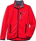 Peak Mountain Ecalon/10-16/xj - Chaqueta de esquí para niño, color rojo, talla 16 años (170 cm)