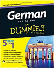 German All-In-One For Dummies: With CD (For Dummies (Language &amp Literature))