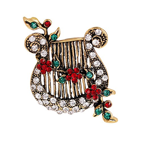 pushfocourag Brooch Pin Women's ...