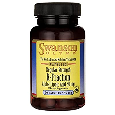 Swanson Ultra R-Fraction Alpha Lipoic Acid (50mg, 60 Capsules)