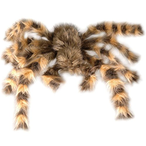 als Deko für Halloween oder eine gruselige Motto-Party // sieht richtig lebensecht aus! // XXL Spinne Spider Tarantula Grusel Dekoration Decoration (Spinne Tarantula)