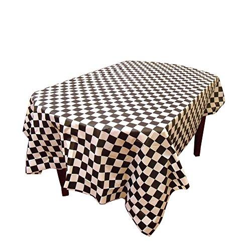 Aspire Heavy Duty 101,6 x 198,1 cm rectangle plastique jetables Housse de table, nappe, accessoire de fête