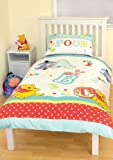Character World Disney Winnie the Pooh Playground Single Rotary Duvet Set