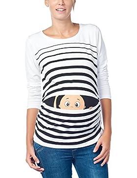 Divertente dolce push moda T-shirt con motivo Schwa borraccia codolo regalo - maglia a maniche lunghe