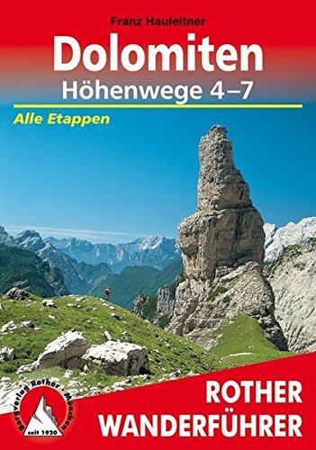 Dolomiten Höhenwege 4-7: Alle Etappen (Rother Wanderführer) - 4. Etappe