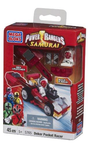 Mega Bloks Power Rangers Deker Poche Racer