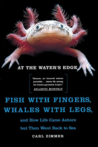 At the Water's Edge: Fish with Fingers, Whales with Legs, and How Life Came Ashore but Then Went Back to Sea (Waters Edge)