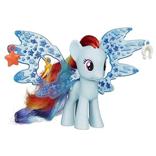 My Little Pony Cutie Mark Magic Friendship Charm Wings Rainbow Dash Figure (Rainbow Pony My Dash Little)